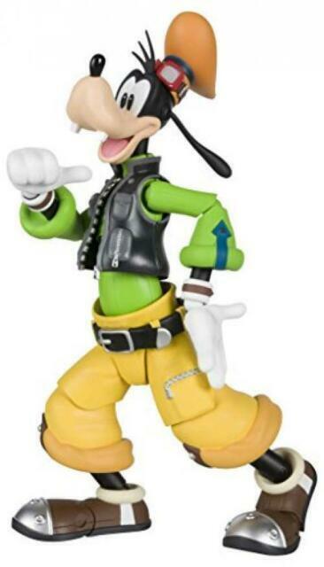 SH S.H *** IN STOCK Figuarts Goofy Dingo Kingdom Hearts II Bandai Japan