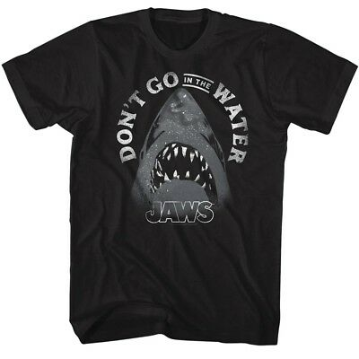 Jaws MENS T SHIRT Official New  IN SIZES SM 5XL in  Island 100/% White COTTON