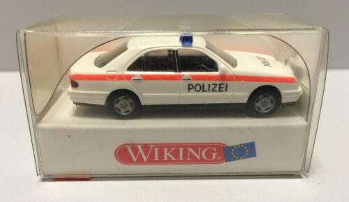 H0 Maßstab 1:87 Wiking 104 09 NEU in OVP Polizei Mercedes Benz E 230