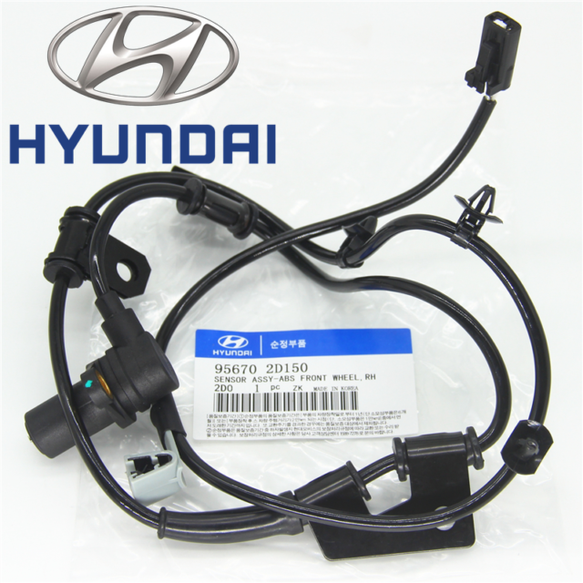 Hyundai Elantra 2001-2006 95670-2D150 ABS Speed Sensor Front Right Fits