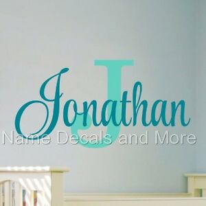 Sticker-Boys-Bedroom-Nursery-Personalized-Name-Vinyl-Decal-Wall-Monogram
