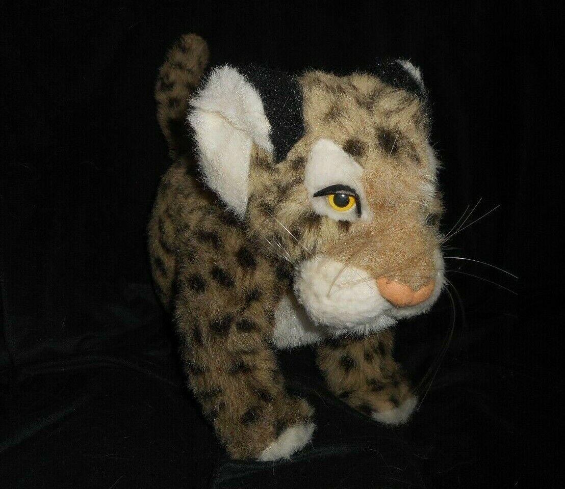 17   Vintage Safari Fatto a Mano in Italia Jaguar Leopard Peluche Peluche
