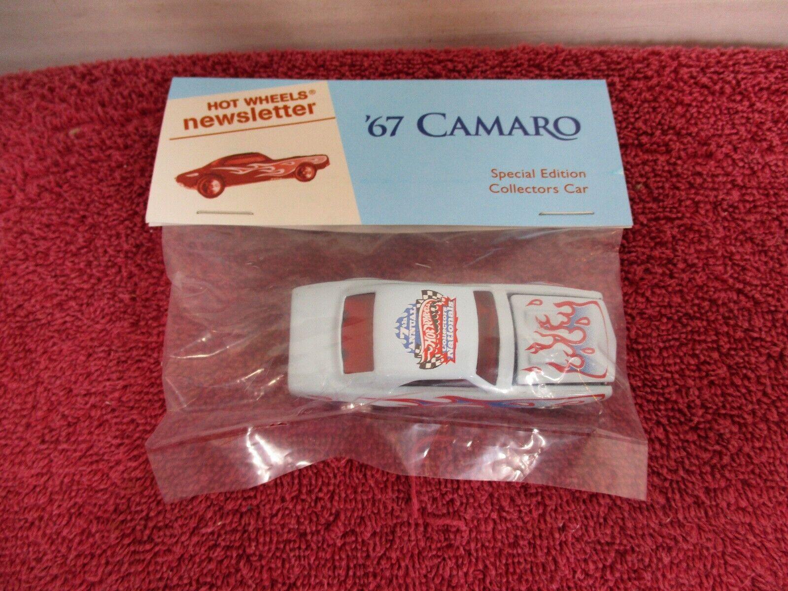 Boletín De Hot Wheels'67 Chevy Camaro