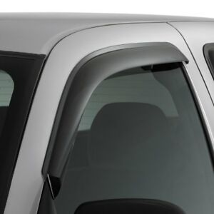 For Chevy Traverse 18-20 Window Deflectors In-Channel Ventvisor Smoke Front /&