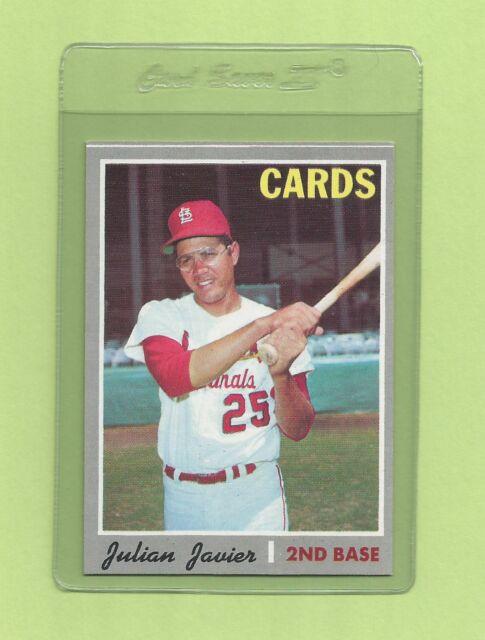 julian baseball Vintage javier