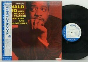 Donald-Byrd-Fuego-LP-1992-Japan-Blue-Note-BST-84026-Jazz-Hard-Bop-w-obi