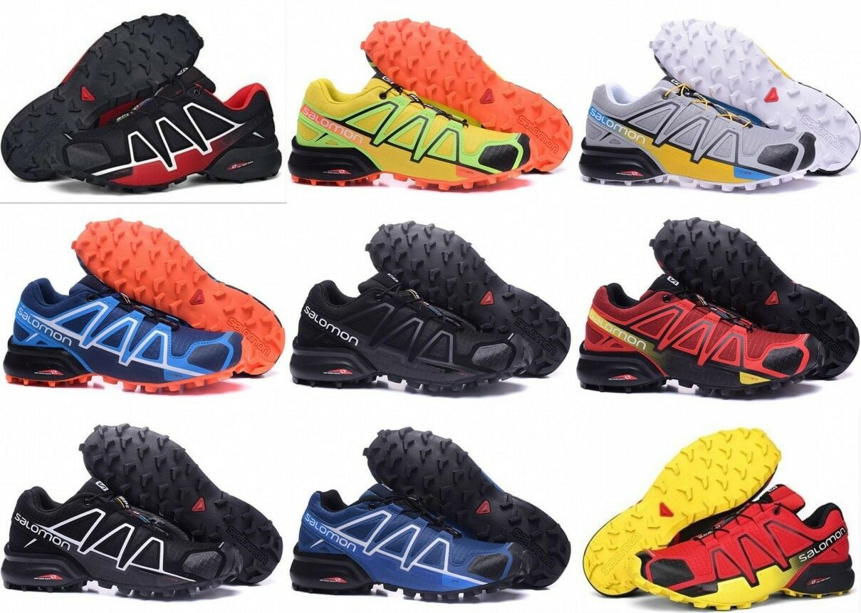 12bf776adcf Men s Camping Speedcross 4 Athletic Running Sports Outdoor Hiking shoes US  7-13