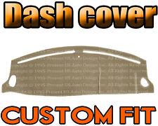Fits 2000-2002  JAGUAR S-TYPE DASH COVER MAT DASHBOARD PAD / BEIGE