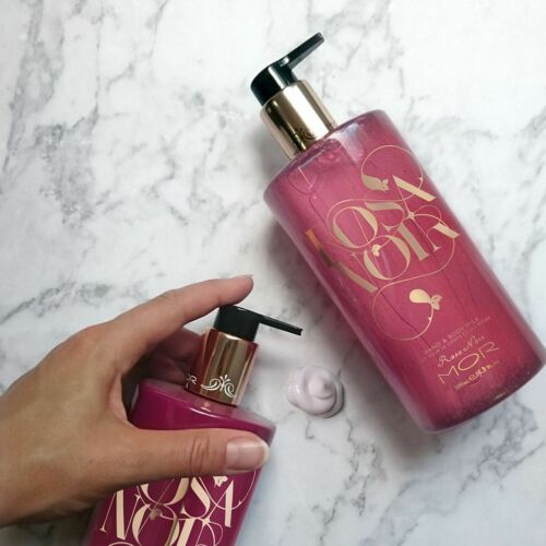 MOR Rosa Noir Hand & Body Milk 500mlAustralian Top Beauty Brand