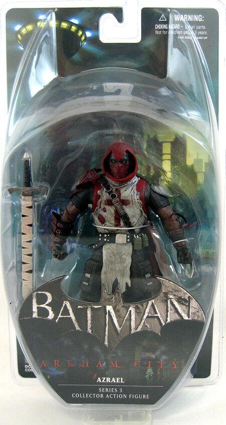 Batman Arkham City video game 3 Azrael 7in. Action Action Action Figure DC Direct Toys ce7875