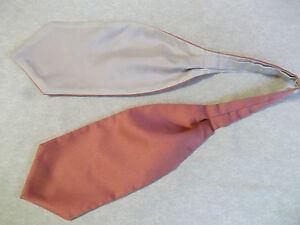 Garçons Cravate Mariage Ascot Cravate Formal Party Taille Unique Noir Rose Saumon-afficher Le Titre D'origine à Distribuer Partout Dans Le Monde