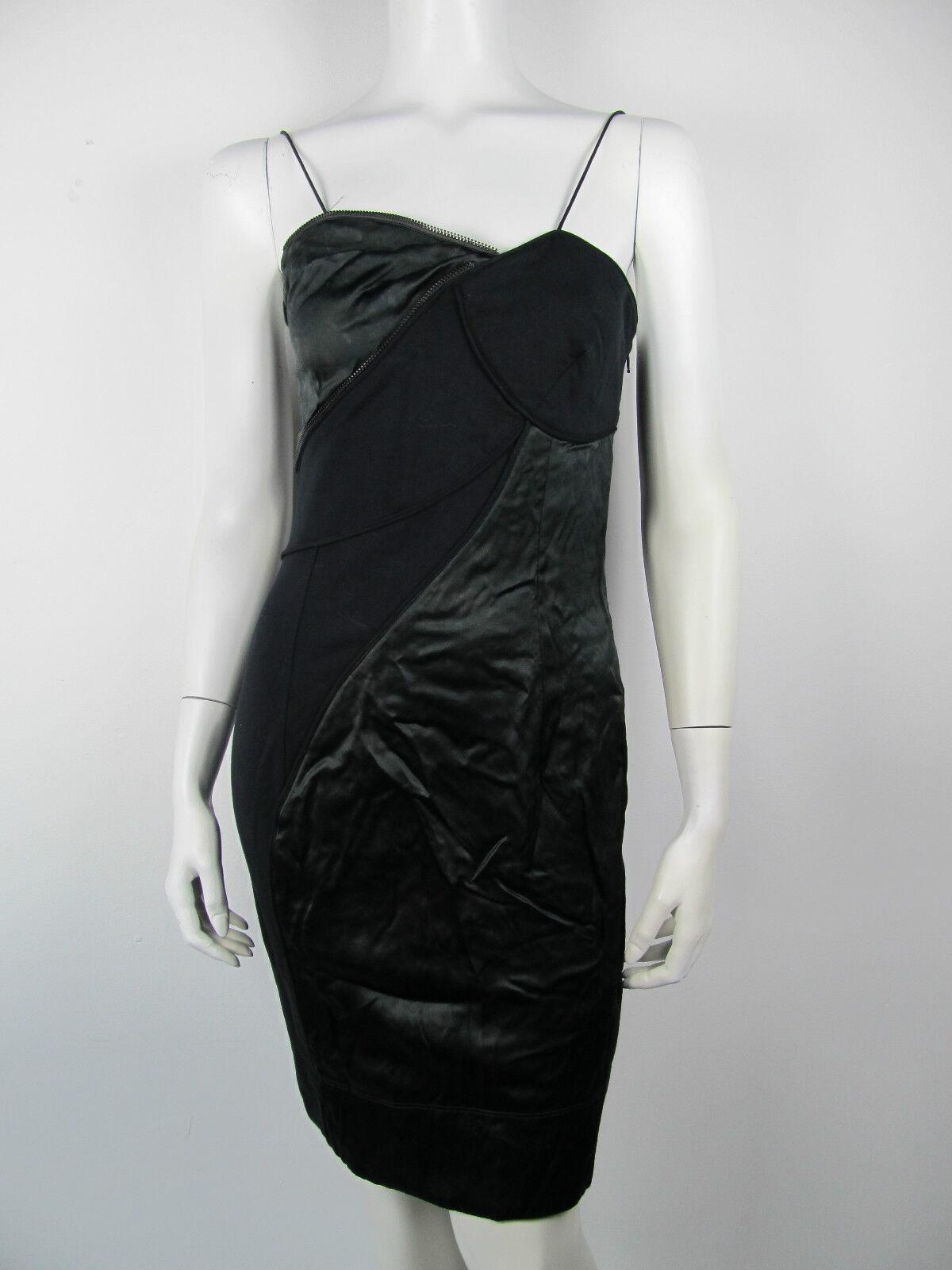Diesel Kleed Kleid Kleid Jurk Rock Kiku 96Y Seide Neu