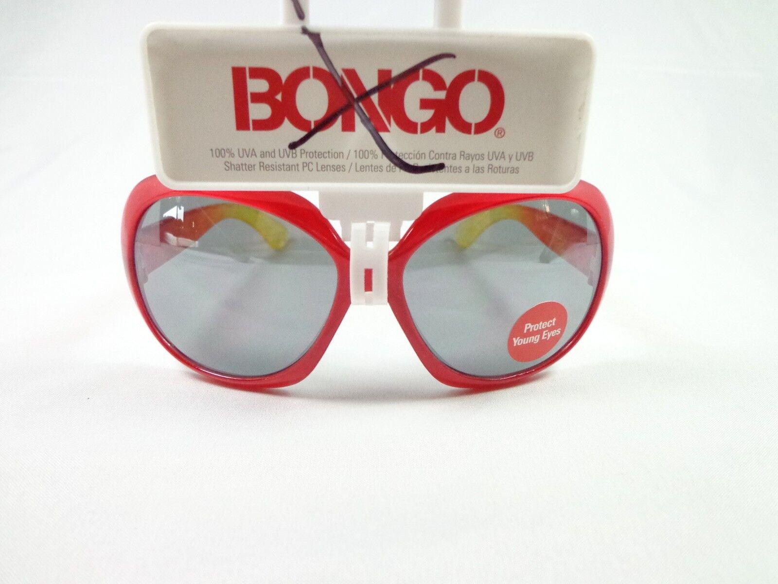 Style Science Bongo Junior's girls fashion red sunglasses side design New