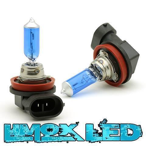 2 x H11 100w Super White Halogen Lampen Temperatur 8500K Abblendlicht Autolampen