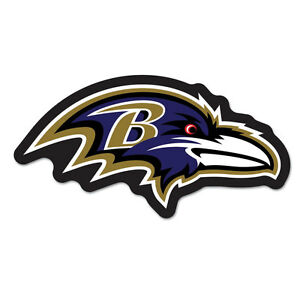 7c5a62fd Details about Baltimore Ravens Logo on the GoGo [NEW] NFL Car Auto Emblem  Sign Truck Grill