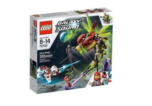 LEGO Galaxy Warp Stinger  70702 MISB (Mint in sealed Box)
