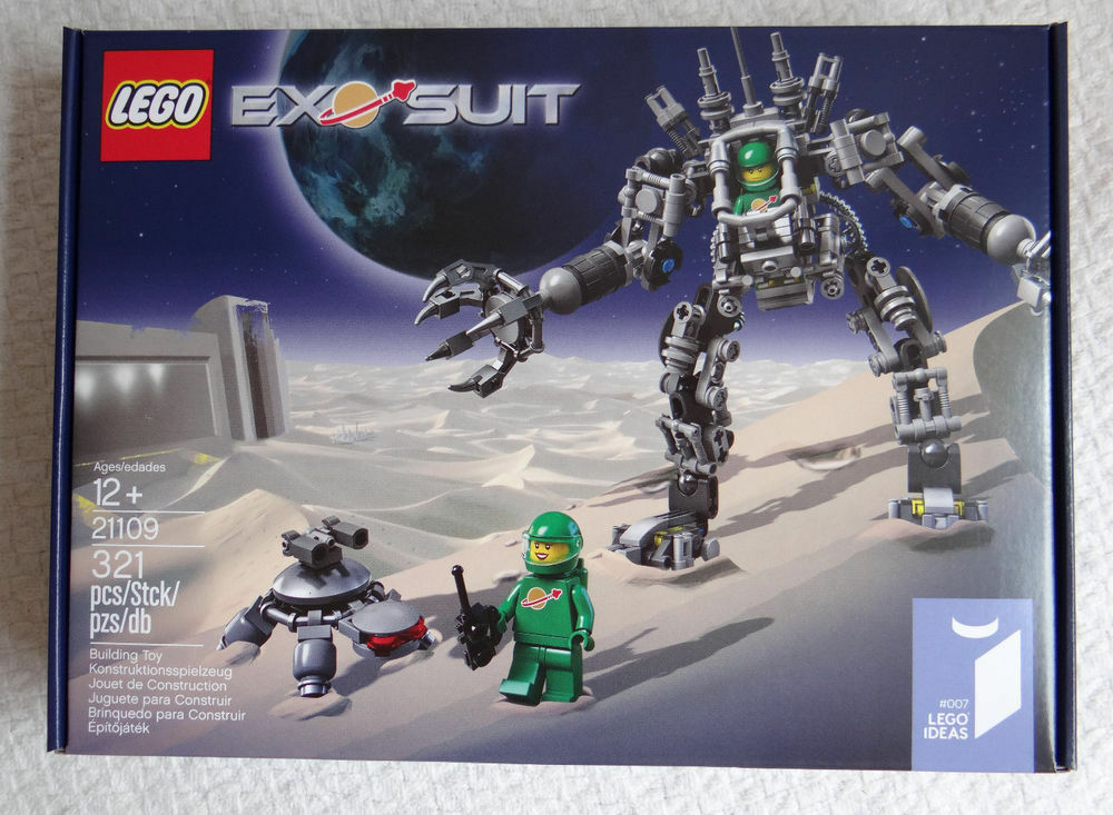 LEGO 21109 Exo Suit Special Edition - Brand New in Sealed Box BNISB