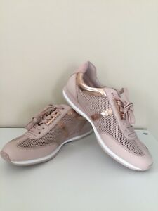 102ddedbfd3f Image is loading NEW-MICHAEL-Michael-Kors-Maggie-Trainer-Fashion-Sneakers-