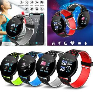 Wasserdichter Bluetooth 4.0 Smart Watch Fitness Tracker Mate für iOS Android