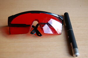UV LASER PEN 1MW FLY TYING UV GEL  CURING & LASER PROTECTIVE GLASSES / GOGGLES