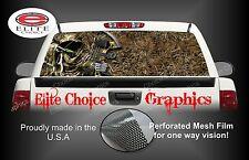 Bow Hunter Reaper Grass Camo Rear Window Graphic Decal Sticker Truck Car SUV