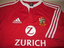 Adidas New Zealand British Lions Rugby Jersey Athletic Team Training Mens Medium