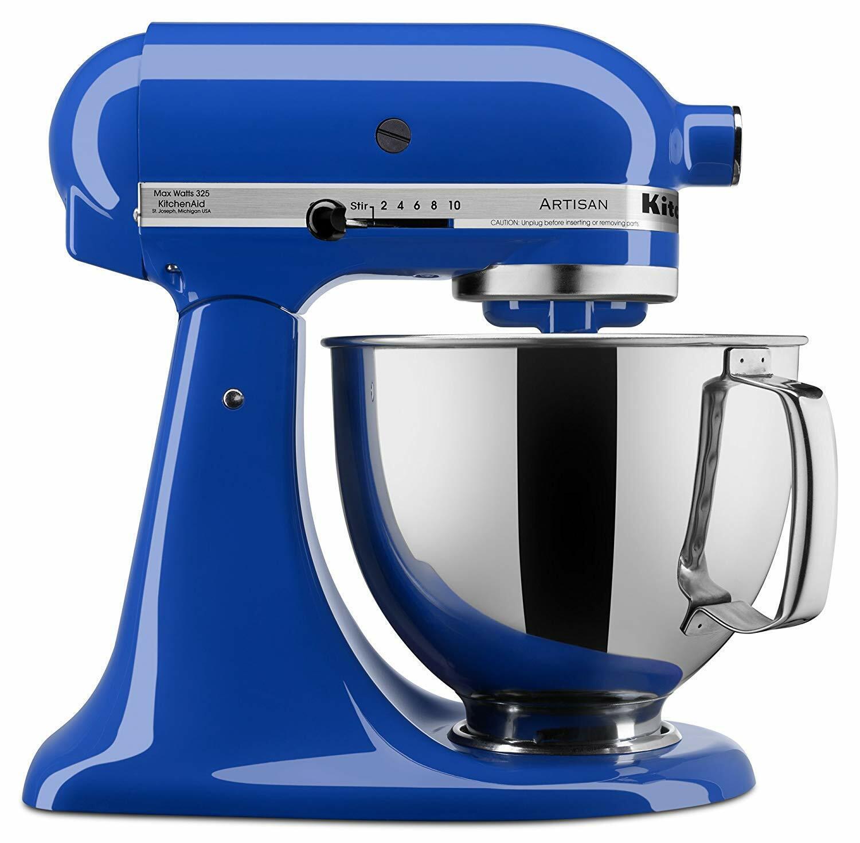 KitchenAid Artisan Series 5 Quart Tilt-Head Stand Mixer - KSM150PSTB Twilight Blue
