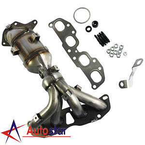 Great Image Is Loading Exhaust Manifold With Catalytic Converter For 2007 2013