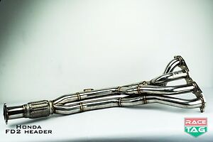 Honda-Civic-FD2-2-0-Exhaust-Header-Extractor
