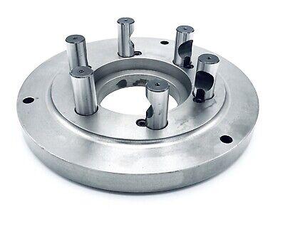 "New Rapidhold 10/"" Set-Tru  STEEL Adjustable Lathe Chuck D1-8 Back Plate"