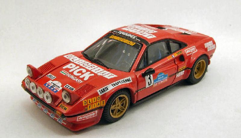 FERRARI 308 GTB    3 Retirosso Targa Florio 1980 eruet Biche 1 43 modello 4cf85a