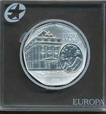 Austria 2005 - 5 Euro Silver Coin -  Ludwig van Beethoven European Anthem - COA