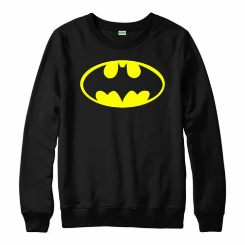 Batman Logo Jumper DC Comics Superhero Joker Harley Quinn Adult /& Kids Top