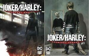 Joker-Harley-Criminal-Sanity-2-A-amp-B-Variant-DC-Black-Comic-1st-Print-2020-NM