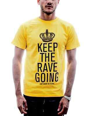 T-Shirt MAGLIETTA UOMO Techno Music DJ Party Club Discoteca Musica Rave