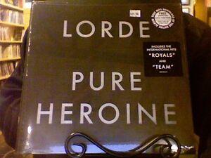 Lorde pure heroine lp sealed vinyl + mp3 download royals | ebay.