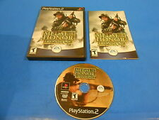 Medal of Honor Frontline Sony Playstation 2 PS2 Video Game Complete