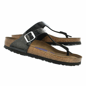cc14a1d2d2 Details about CLEARANCE Birkenstock BF Gizeh Magic Galaxy Black SOFT  FOOTBED BNIB 847441