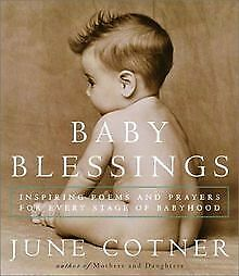 Baby Blessings: Inspiring Poems and Prayers for ... | Book | condition very good
