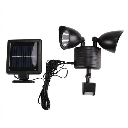 Security Detector Solar Spot Light Motion Sensor Outdoor 22 LED Floodlight Lamp