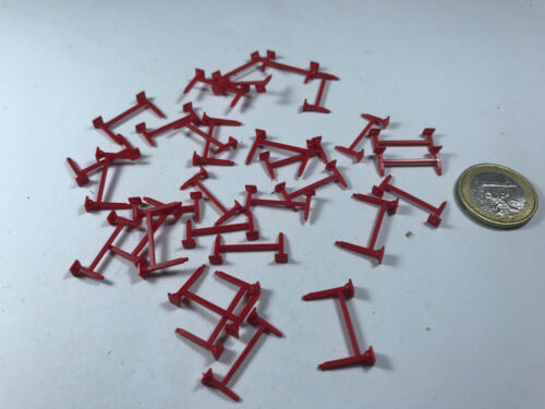 X890 HO 25 pcs pied de support rouge Herpa albédo camions fuyaient pièce de rechange pour le mettre