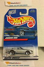 Jaguar Xk8 * Silver w/ 5dot rims * 2000 Hot Wheels * K20