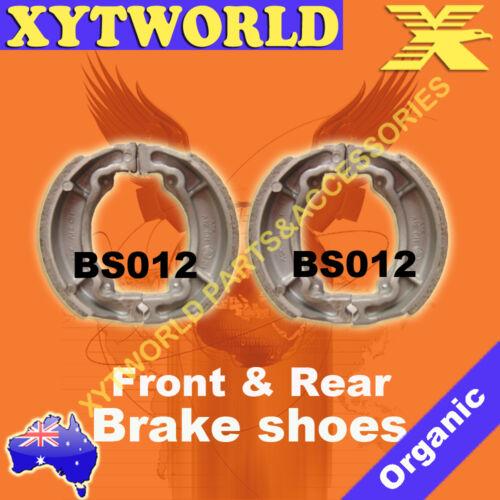 FRONT REAR Brake Shoes for Kawasaki KE 100 1979-1998