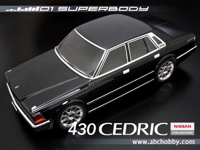 1 10 RC Car BODY SHELL  NISSAN 430 CEDRIC Lexan Body 190mm
