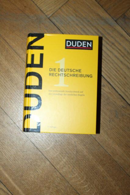 Duden - Die deutsche Rechtschreibung (27. Aufl) Das umfassende Standardwerk auf