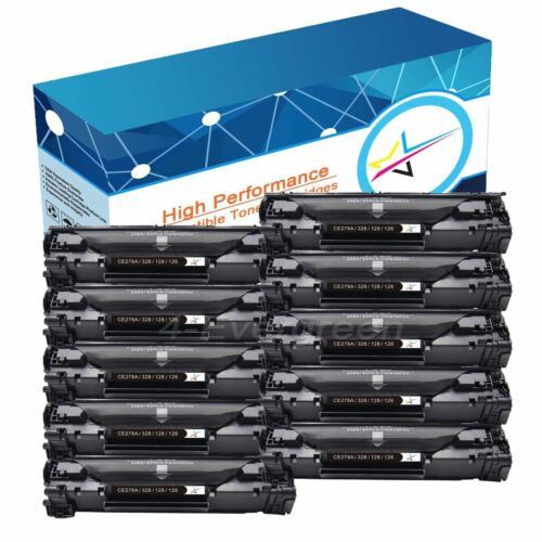 High-Yield CRG126 Toner LOT With Chip For Canon 126 ImageClass LBP6230dn LBP6200
