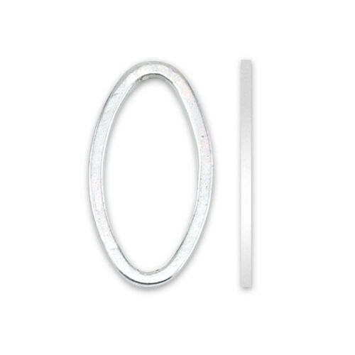 Beadalon® Quick Links™ Findings Oval Shape 15mm Silver Plated 32 pieces