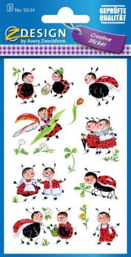 """Sticker /""""Marienkäfer/"""" Zweckform; #Sticker# 55154"""