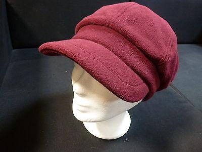Sportliche Fleecemütze Damenmütze Mütze Schildmütze Damenhut Fleecehut