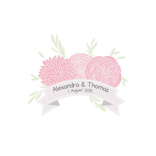 Hochzeitskerze Vintage Flower inkl. Personalisierung Personalisierung Personalisierung Hochzeit Traukerze Trauung b2009e